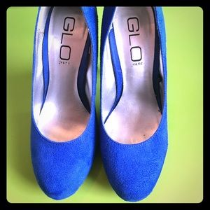 Shoes - Classic Blue Suede Shoes